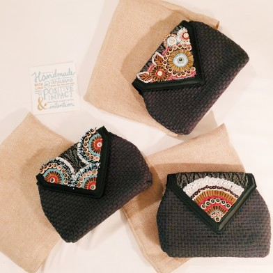 these clutches were made especially for the WEF, but we will be making them for our advocates too!
